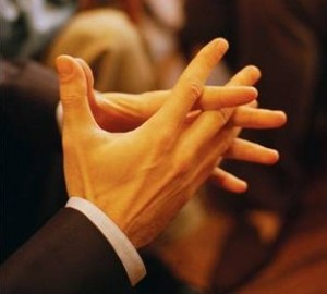 Presentation Gesture for Personal Competitive Advantage