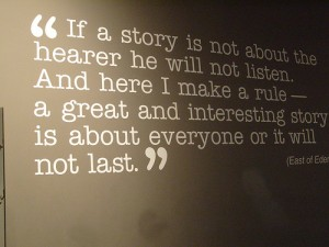 Storytelling conveys your Most Important Point