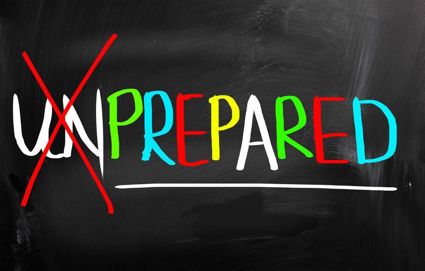 Unprepared to Present