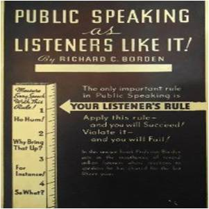 Book public speaking