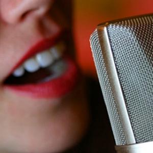 An especially powerful presentation voice