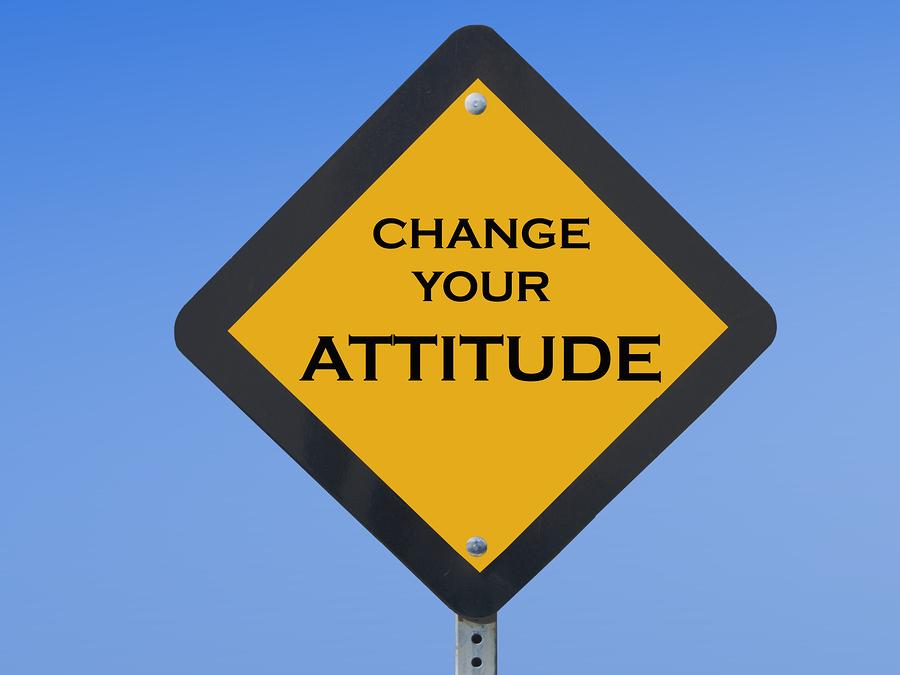 positive presentation attitude