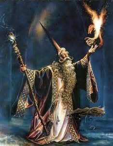 Magic Presentation Words like an Incantation