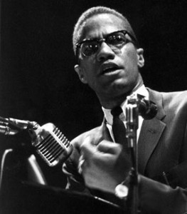 Malcolm X was a great presenter